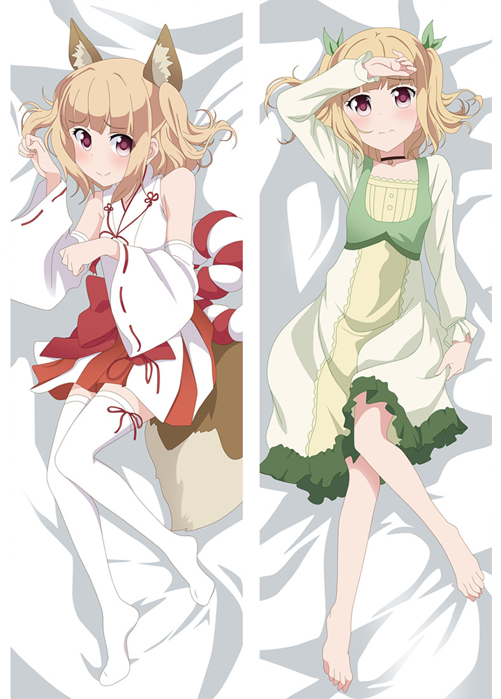 NEW GAME Long anime japenese love pillow cover
